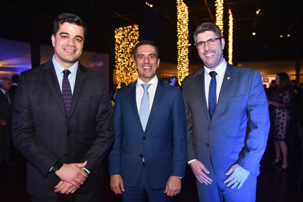 No Prêmio Equilibrista: Diogo Roberte, Leo de Castro e Marcelo Zenkner. Foto: Monica Zorzanelli