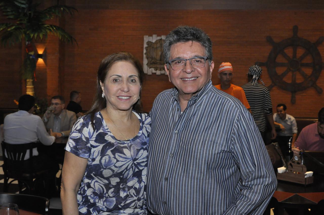 Elizabeth e Walter Cavalcante. Foto: Pepê