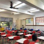 Escola funciona sem alvará e com rachaduras. Foto: Divulgação