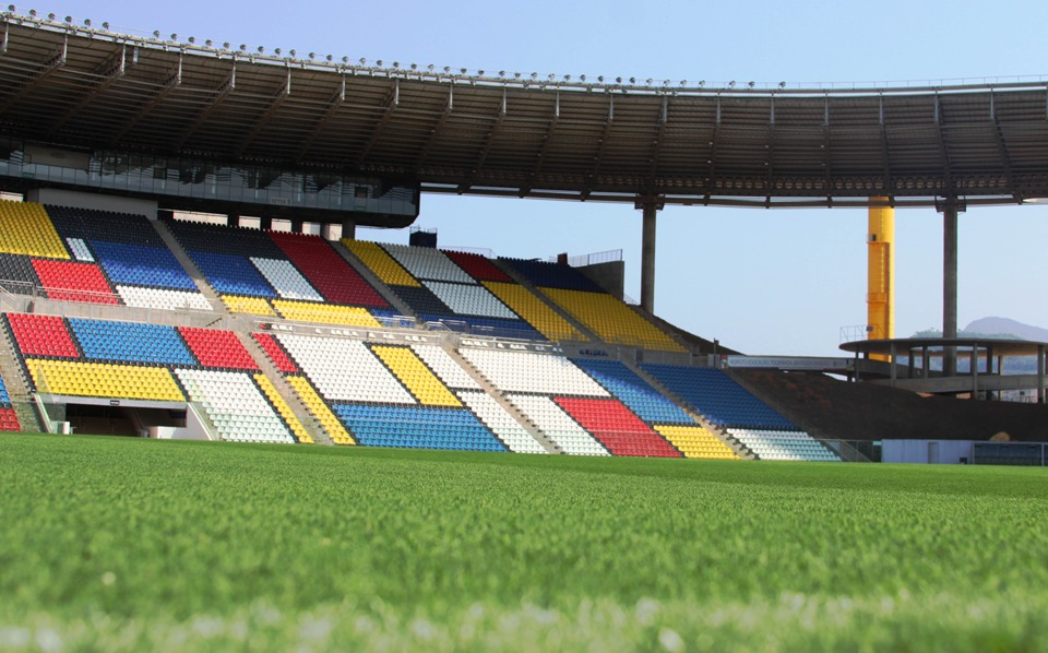 Estádio Kleber Andrade, em Cariacica. Foto: Divulgação/Sesport