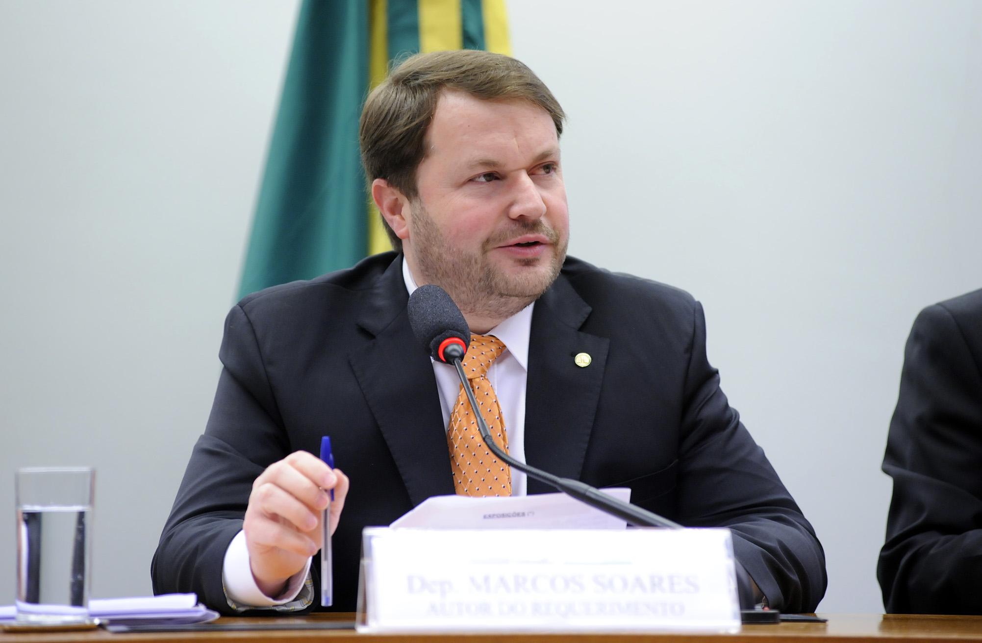 O ex-deputado federal Marcos Soares (DEM-RJ), filho do pastor R. R Soares, está entre os nomes avaliados para ocupar o cargo. Foto: Lúcio Bernardo Jr./Câmara dos Deputados
