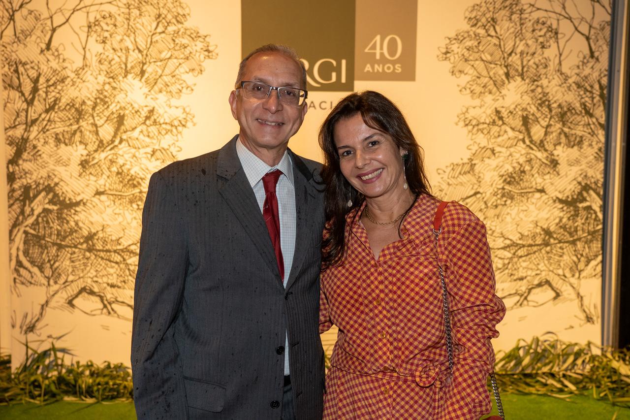 Gercino Coser e Fernanda Guerra. Foto:Cacá Lima