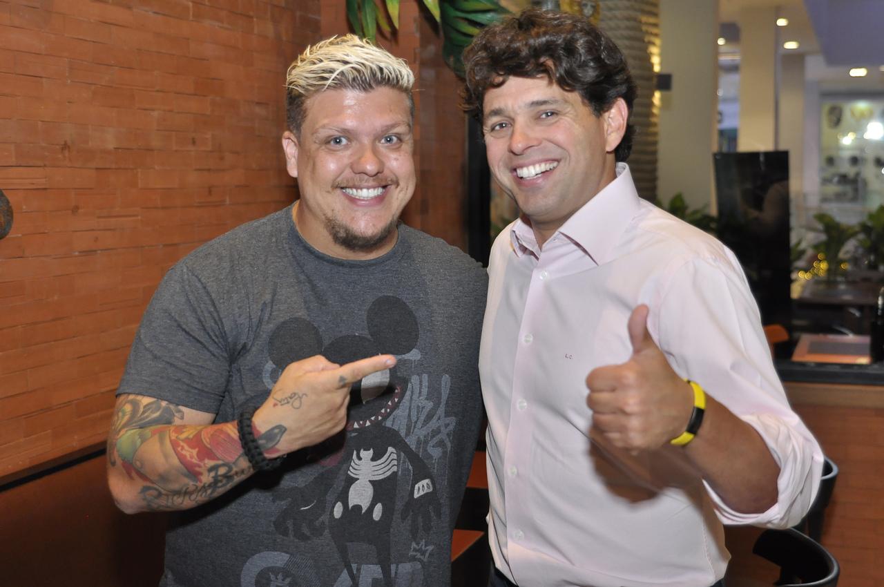 Henrique César e Leonardo Cavalcante. Foto: Pepê