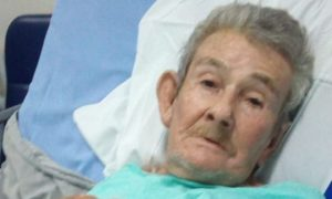 Idoso Adolfo Siller vítima de deslizamento em Santa Leopoldina. Foto: Reprodução/Facebook
