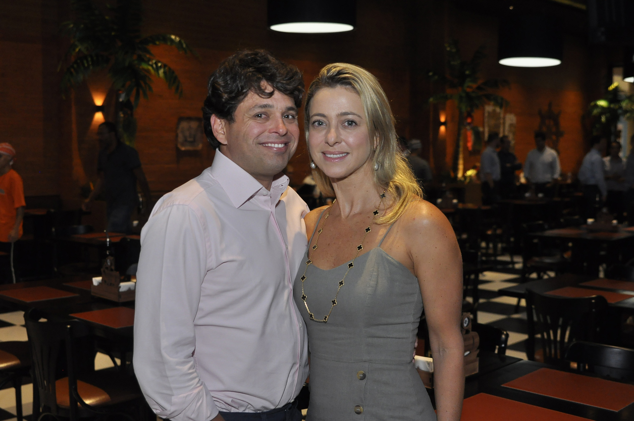 Leonardo Cavalcante e Carol Filgueiras. Foto: Pepê