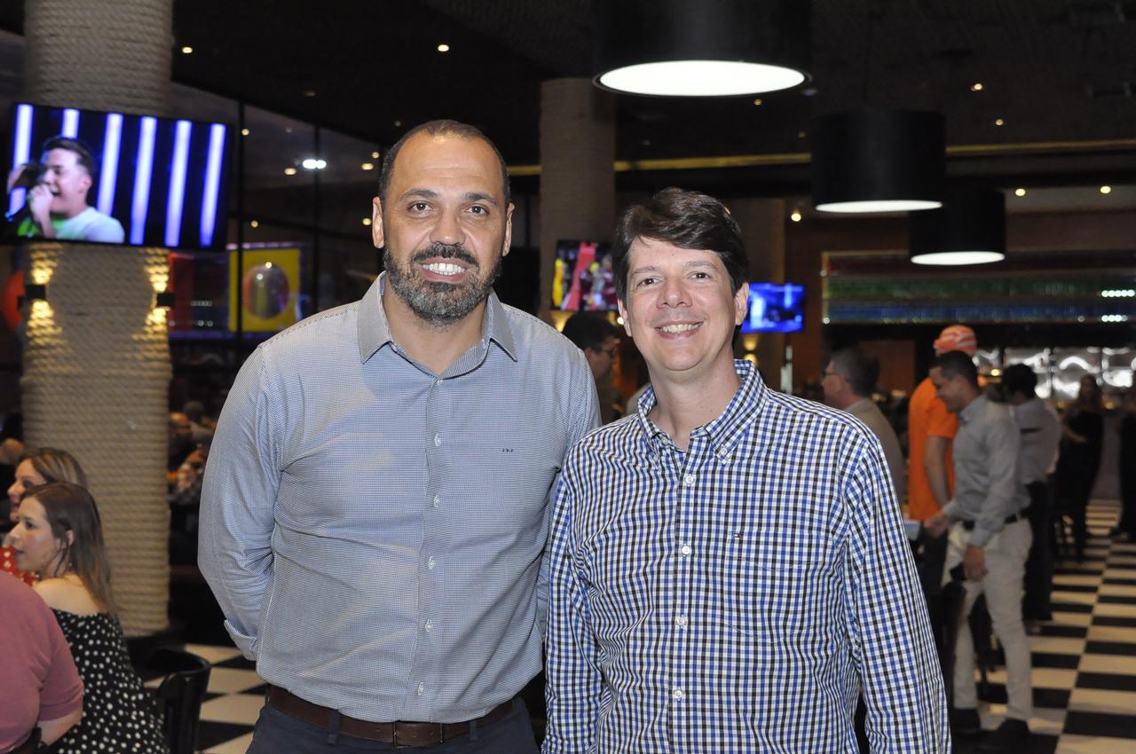 Paulo Pereira e Gustavo Figueiredo. Foto: Pepê