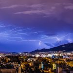 Raios; tempestade. Foto: Pixabay