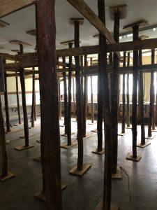 Salas foram interditadas por apresentar trincas na estrutura. Foto: Divulgação