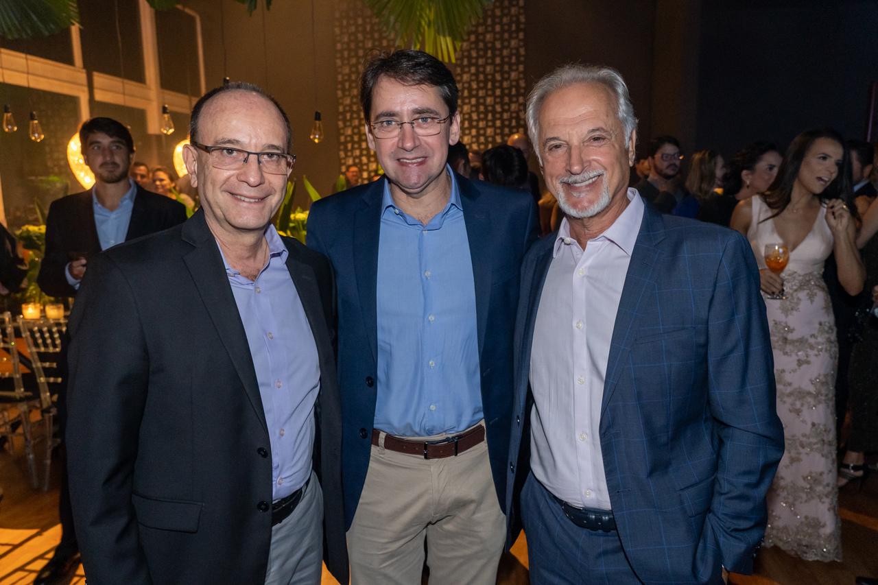 Sérgio Sotelino, Álvaro Farjado e Jonas Zucchi. Foto: Cacá Lima