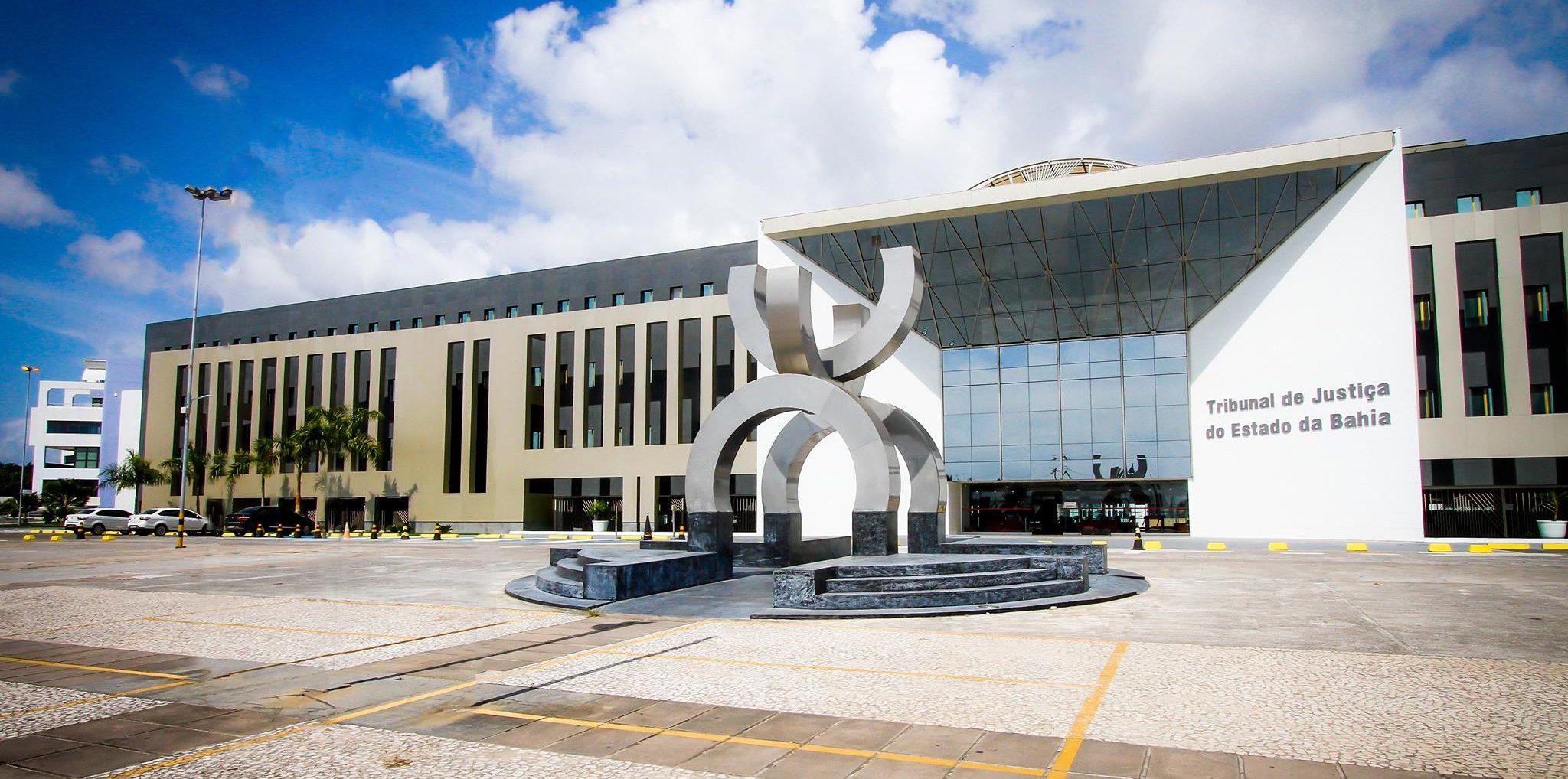Sede do Tribunal de Justiça do Estado da Bahia, em Salvador. Foto: Reprodução/Tribunal de Justiça da Bahia