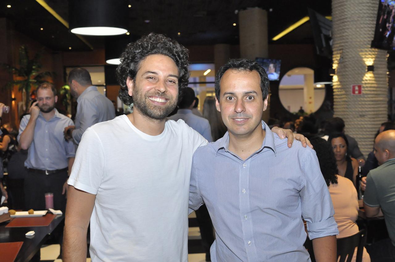 Waltinho Cavalcante e Marcelo Crespo. Foto: Pepê