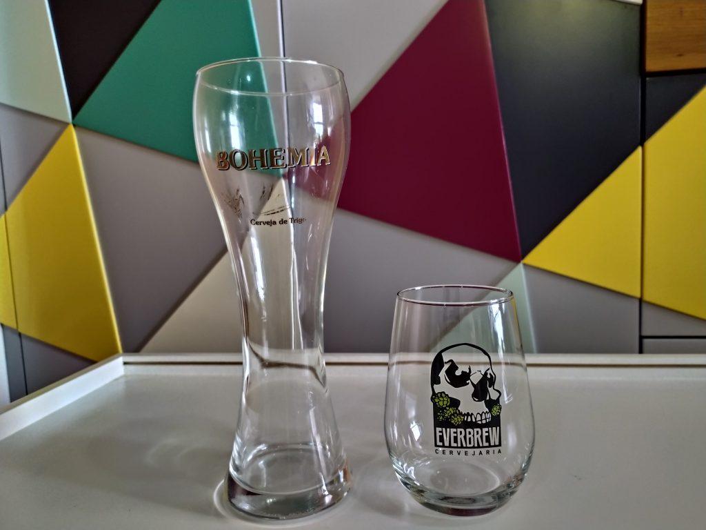 Weiss e Neipa glass. Foto: Divulgação