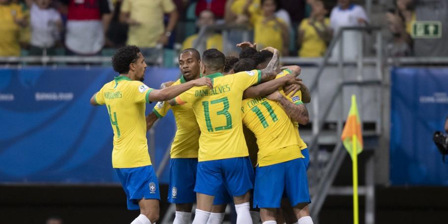 Brasil estreia em casa contra Bolívia nas Eliminatórias da Copa do Mundo de 2022. Foto: Lucas Figueiredo/CBF