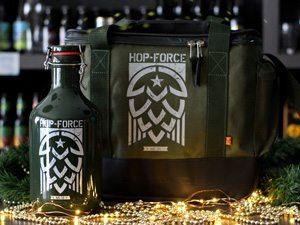 A bolsa térmica ajuda a manter a temperatura ideal da sua cerveja. Foto: Divulgação
