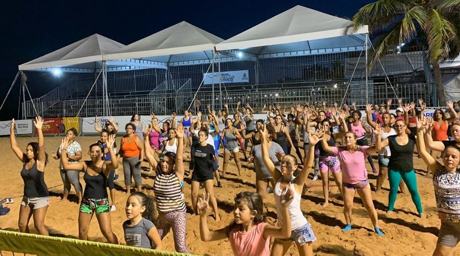 Arena Esportiva de Verão de Vila Velha. Foto: Divulgação/PMVV