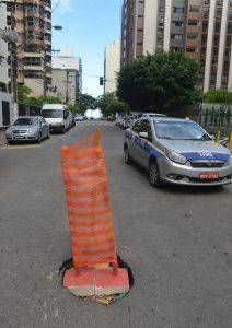 Ruas de Vila Velha sofreram com a ação das chuvas que caiu no final de semana. Foto: Chico Guedes