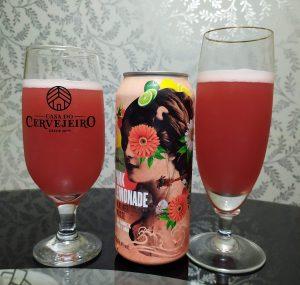 Berliner Weisse Pink Lemonade, da Cervejaria Dádiva. Foto: Leticia Orlandi