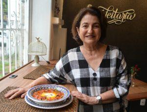 Chef Sylvia Lis, A Confeitaria Delícias e Café. Foto: Chico Guedes