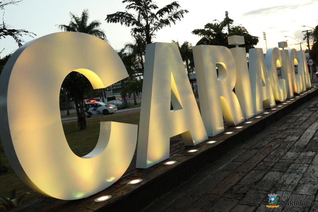 Cariacica instala letreiro turístico próximo a Segunda Ponte. Foto: Divulgação/Claudio Postay