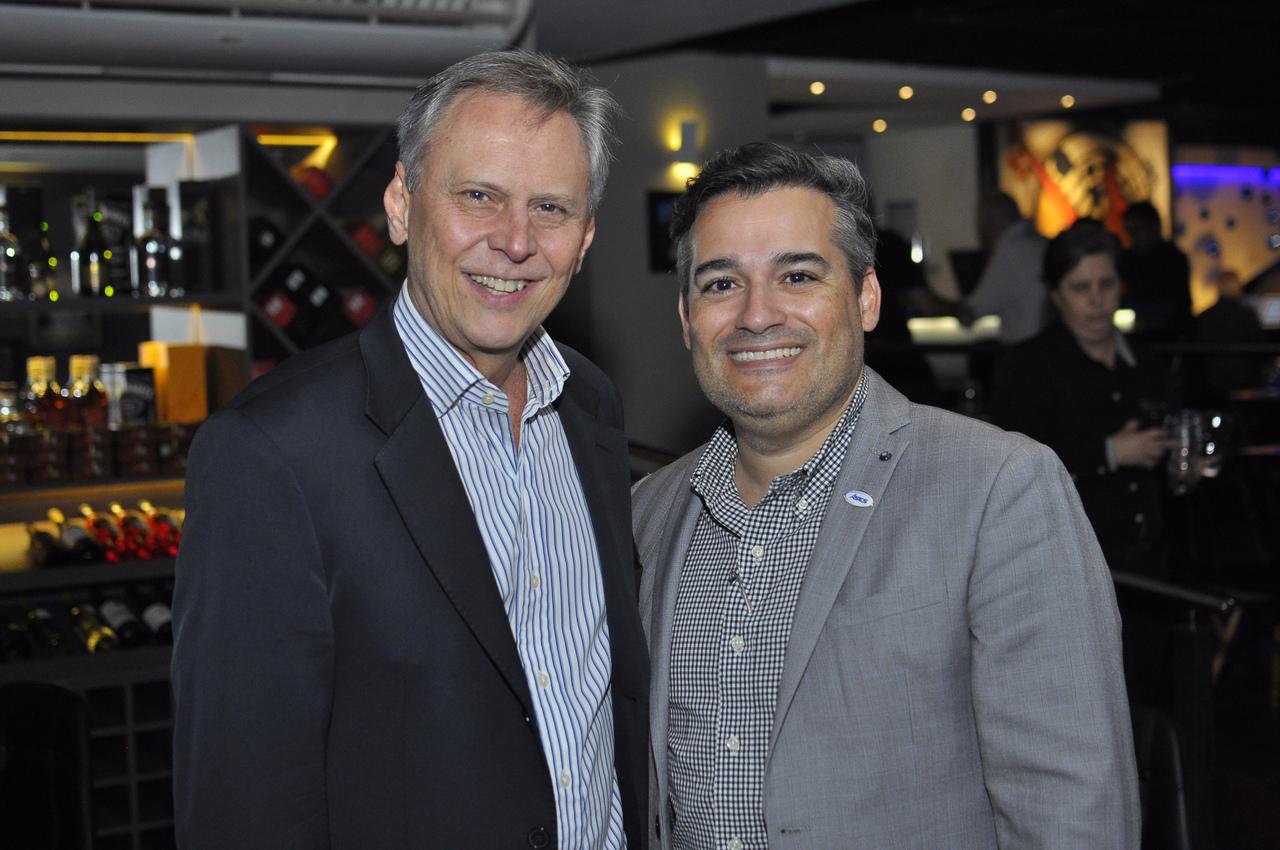 Carlos Magalhães e Cícero Moro. Foto: Pepê