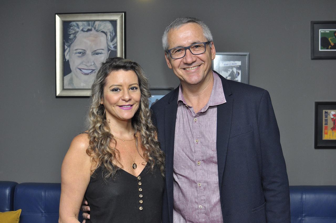 Cristiane e Vanderlei Marafon. Foto: Pepê