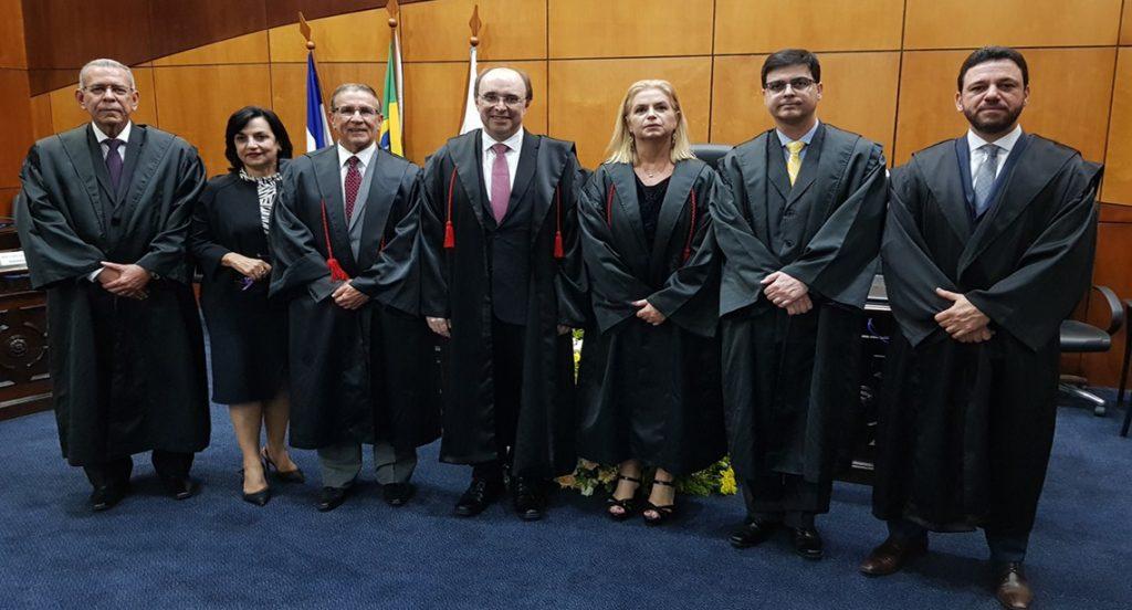Desembargador Samuel Meira Brasil Júnior é o novo presidente do TRE-ES. Foto: Divulgação/TRE-ES