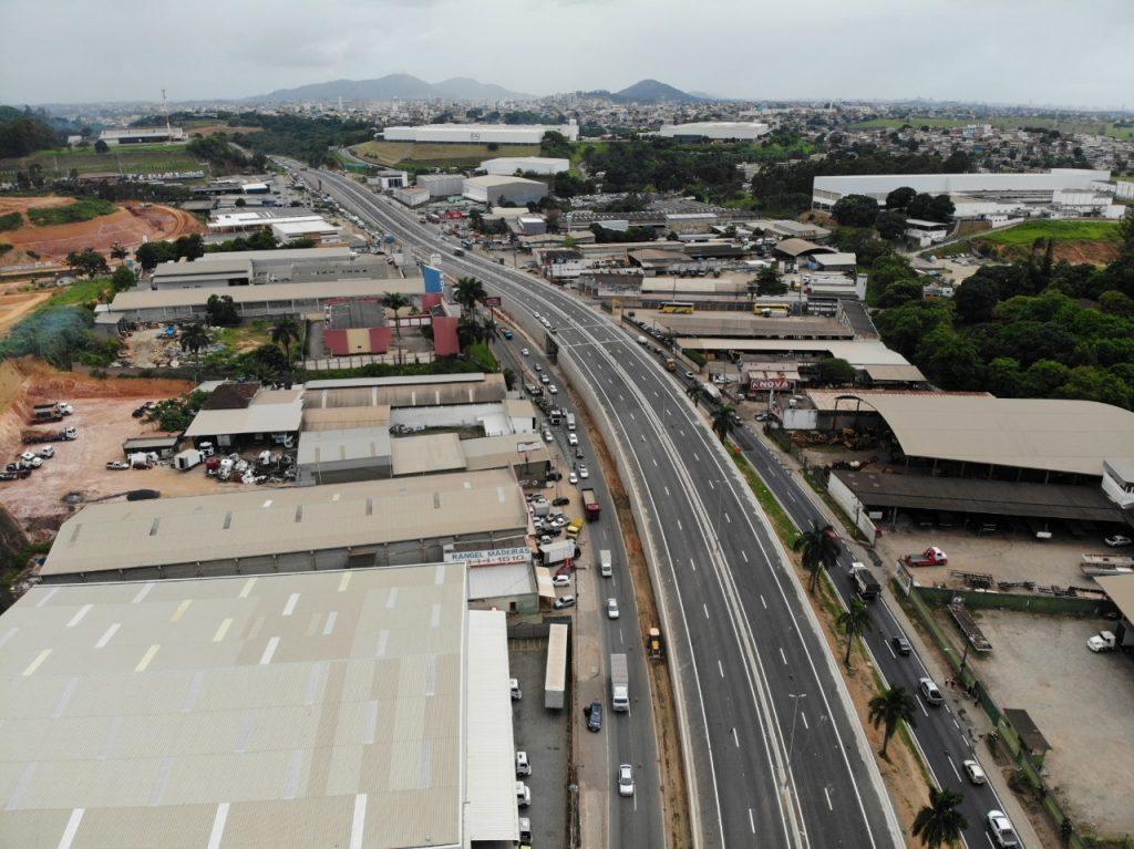 Eco101 libera ao tráfego dois viadutos da BR-101 em Viana. Foto: Divulgação/Eco101