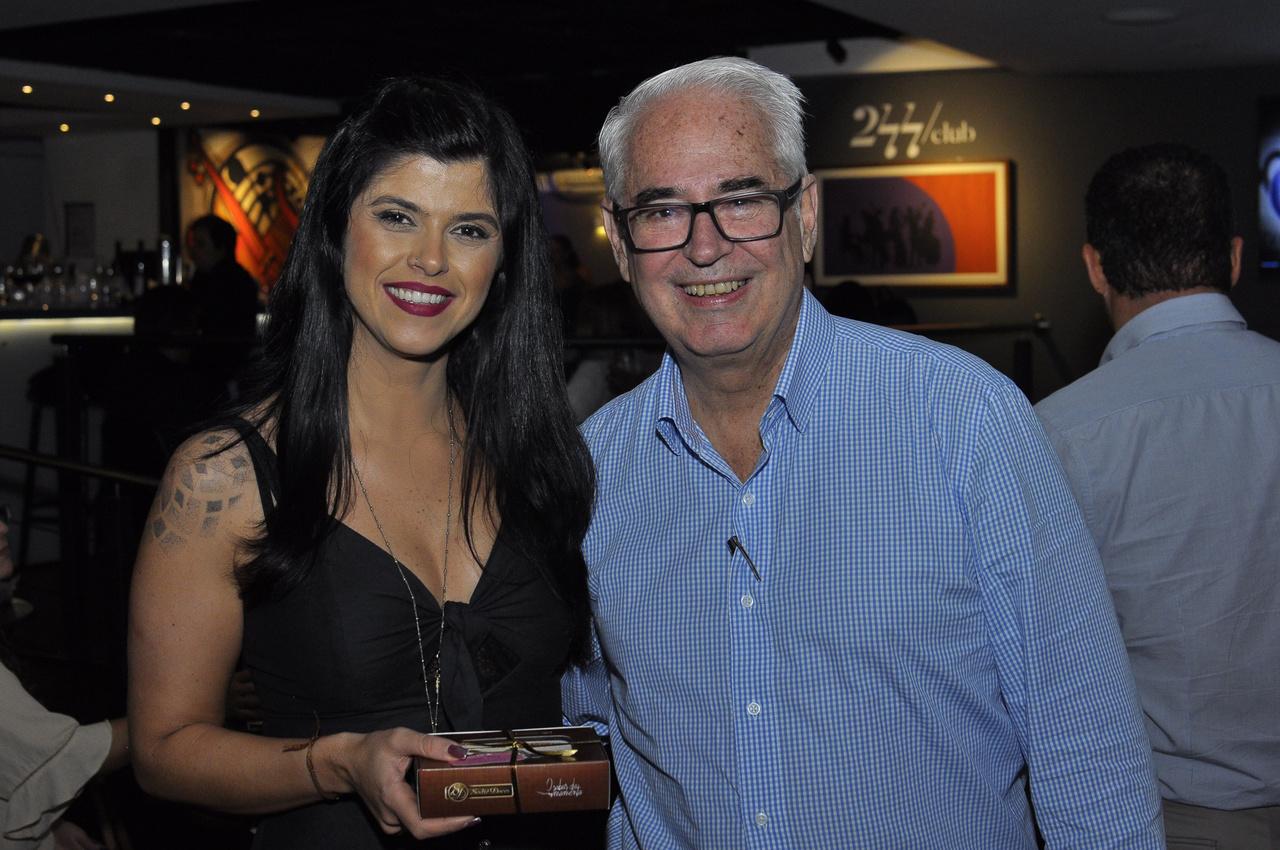 Juliana Loyola e Márcio Paulo Silva. Foto: Pepê