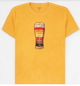 Muitas marcas de cervejarias já apostam em vestuário para cativar seus clientes. Foto: Divulgação