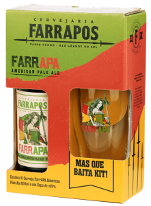 Os kits de cervejas que acompanham copos são facilmente encontrados. Foto: Divulgação