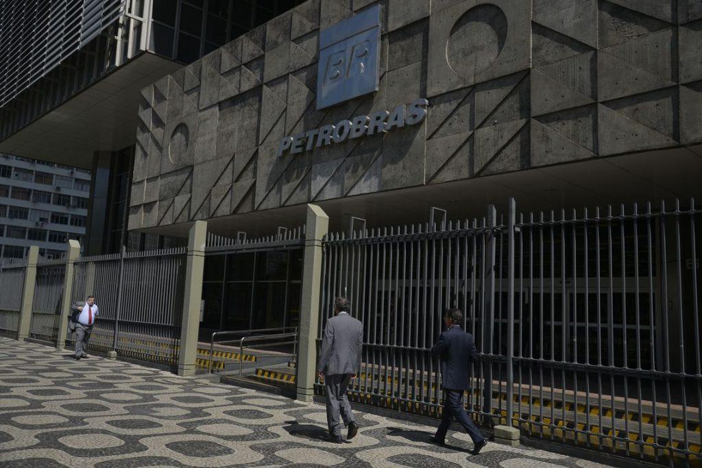 Edifício sede da Petrobras, no centro do Rio de Janeiro. Foto: Fernando Frazão/Agência Brasil