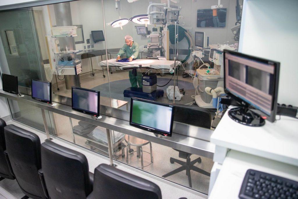 Hospital das Clínicas -Fotos gerais e equipamento especial. Foto: Divulgação/Governo do Estado de São Paulo