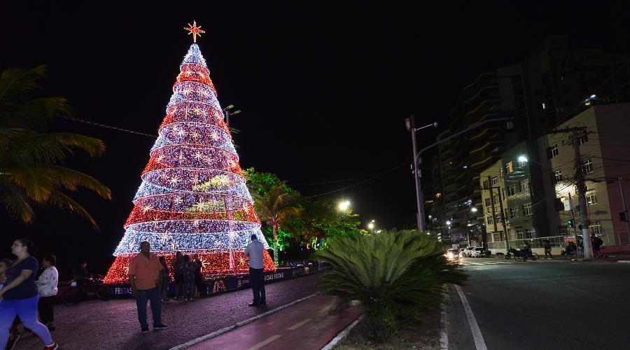 Programação natalina vai alegrar a noite desta segunda em Vila Velha. Foto: Fabricio Lima