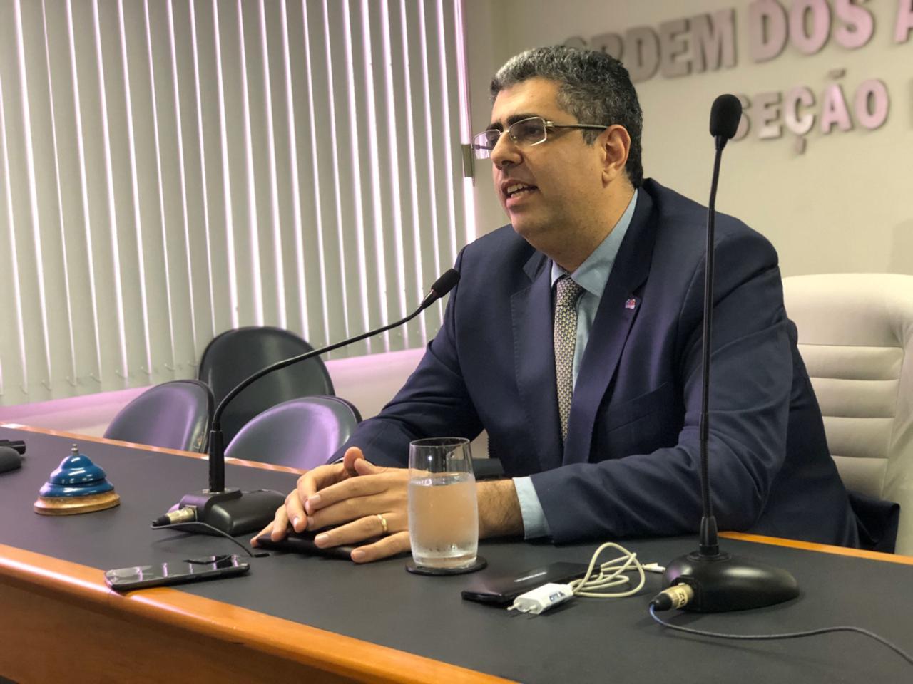 José Carlos Rizk Filho é presidente da OAB-ES. Foto: Divulgação