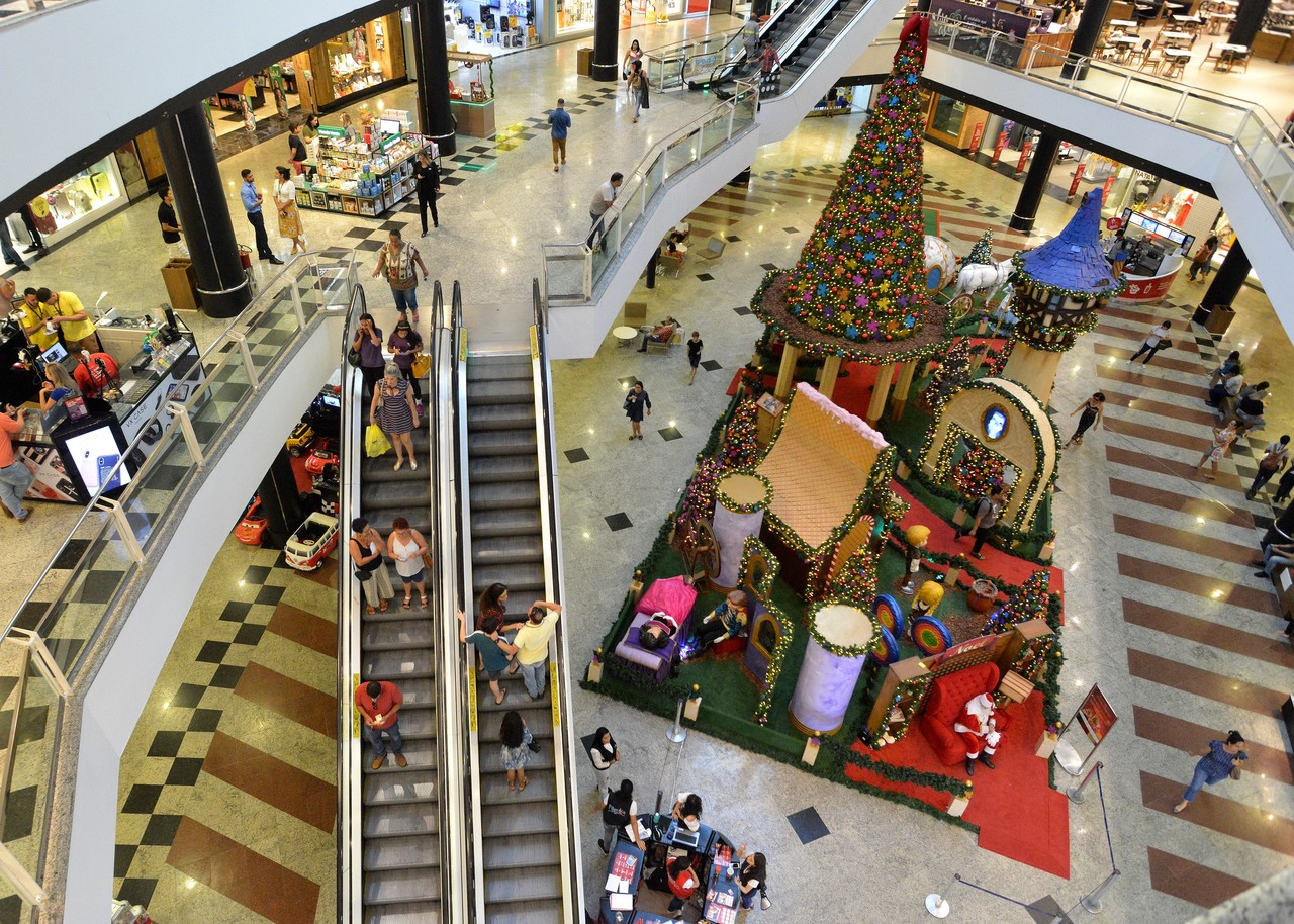 Shopping Praia da Costa abre amanhã até as 23h. Fonte: Chico Guedes