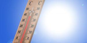 Termômetro, calor, sol, verão. Foto: Pixabay