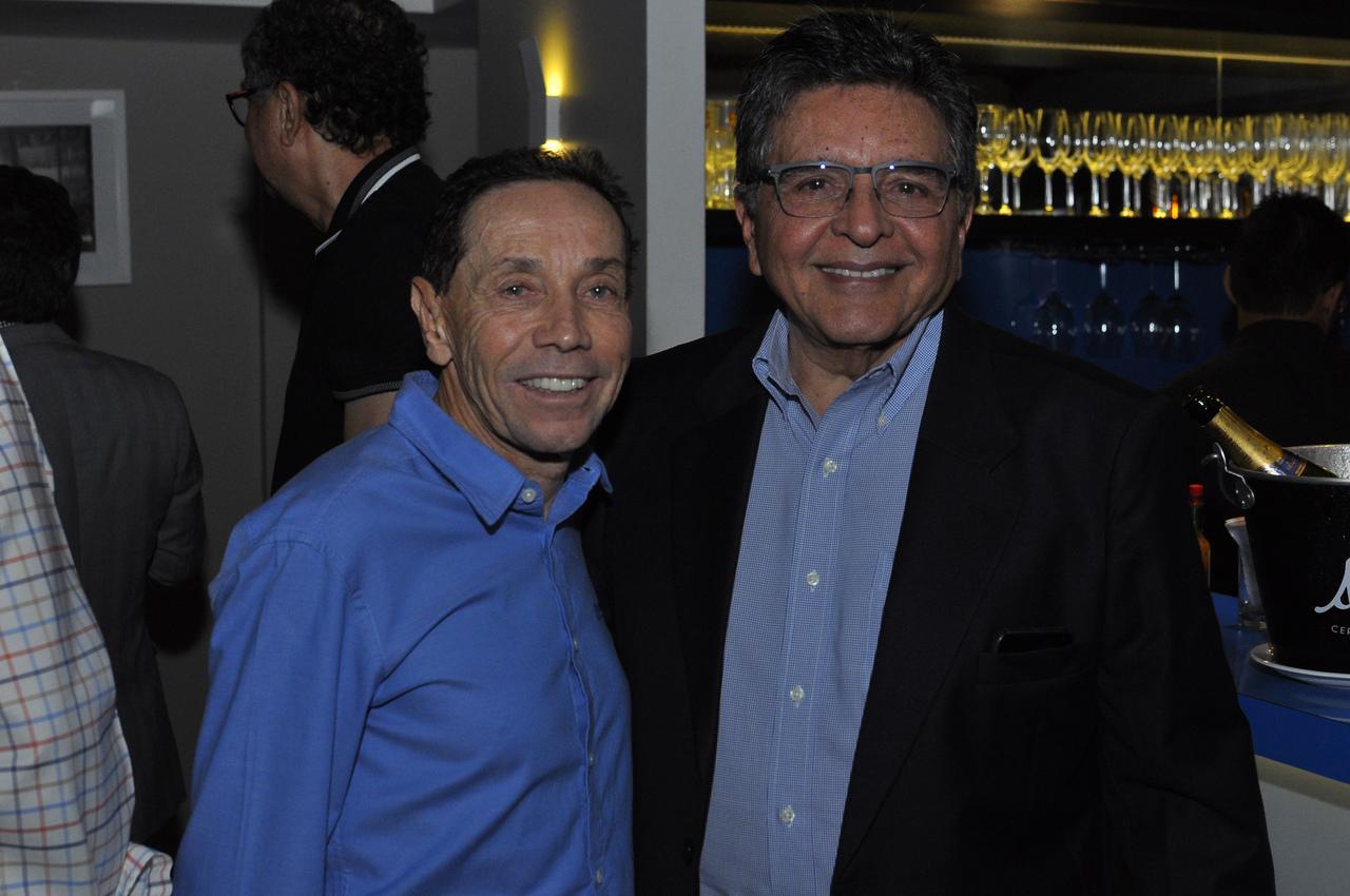 Valdecir Torrezani e Walter Cavalcante Júnior. Foto: Pepê