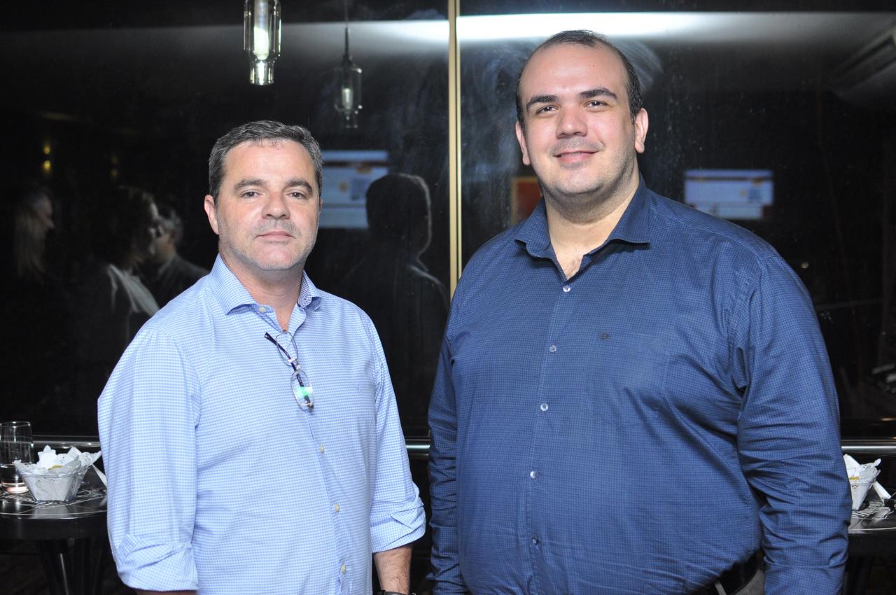 Willian Quilles e Zander Rocha. Foto: Pepê