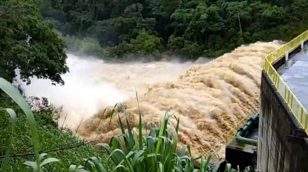 barragem Francisco Grós, em Alegre, próximo à comunidade de São João do Norte. Foto: Internauta