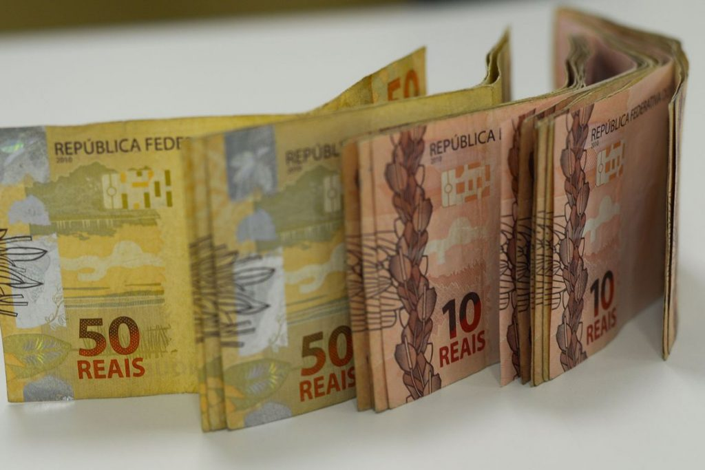 Dinheiro. Foto: Marcello Casal Jr/Agência Brasil
