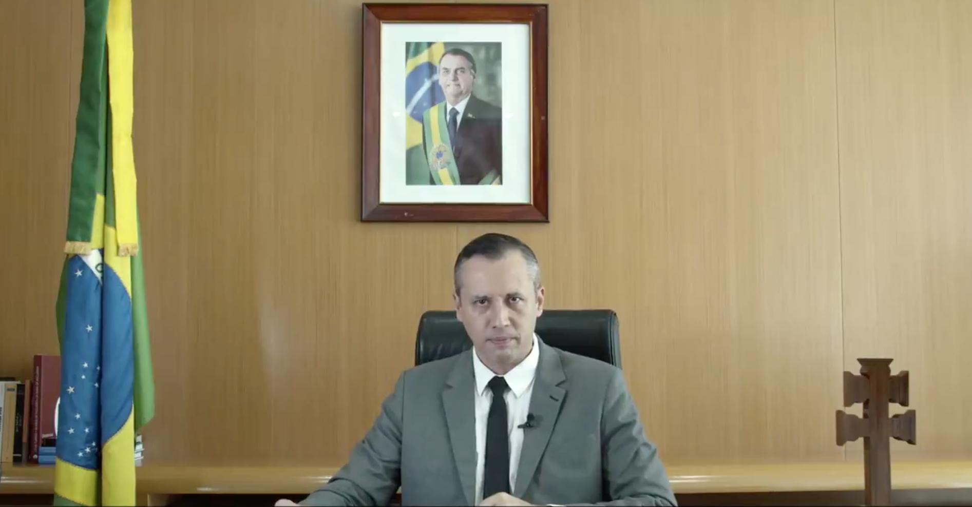 Em vídeo, o Secretário de Cultura, Roberto Alvim, copia trechos de um discurso nazista de Joseph Goebbels. Foto: Reprodução