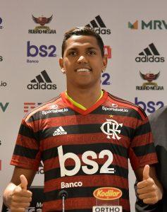 Pedro Rocha no Flamengo. Foto: Reprodução/Facebook