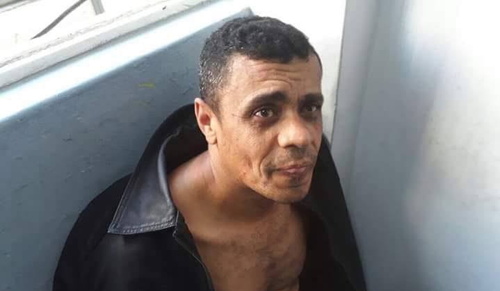 Adélio Bispo de Oliveira foi detido pela Policia Militar de Minas Gerais depois de atacar com uma faca o então candidato à presidência da República Jair Bolsonaro. Foto: PMMG