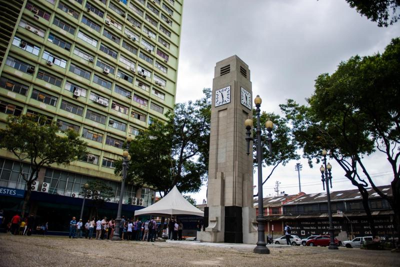 Avenida Beira-Mar ficará interditada a partir da praça Oito. Foto: Diego Alves/PMV