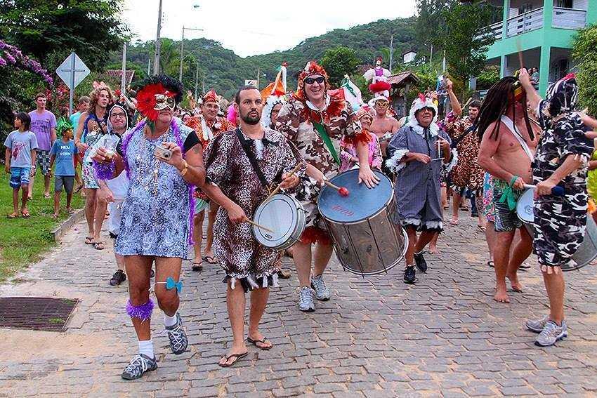 Bloco de rua de Matilde. Foto: Divulgação/Secom