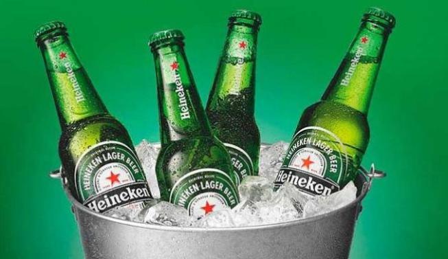 Cerveja long neck da Heineken. Foto: Divulgação