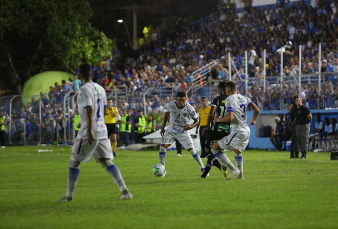 Com a derrota, o Vitória perdeu a chance de receber R$ 1,5 milhão pela conquista da vaga. Foto: Paulo Souza