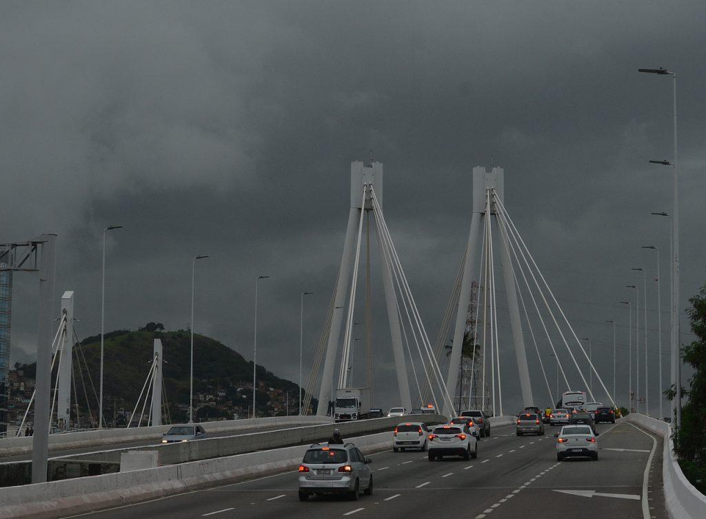 Frente fria; chuva; nublado. Foto: Chico Guedes