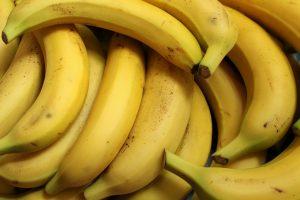 Fruta; banana. Foto: Pixabay