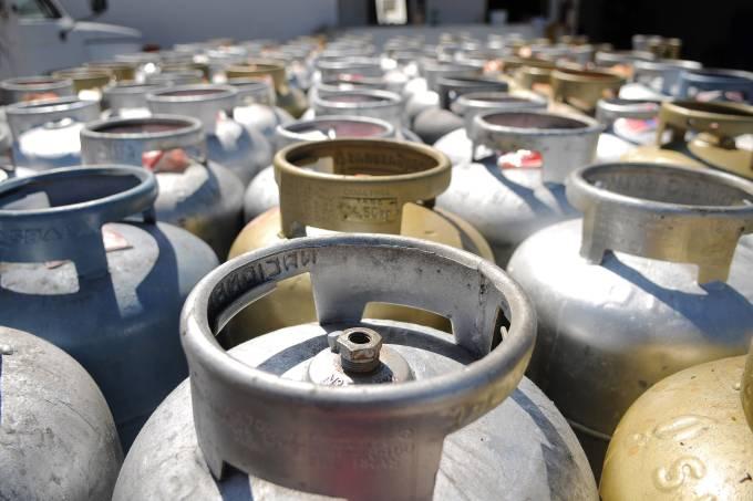 Gás de cozinha. Foto: Pedro Ventura/Agência Brasília/Divulgação